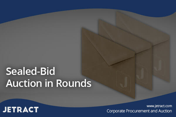 Sealed-Bid Auction in Rounds